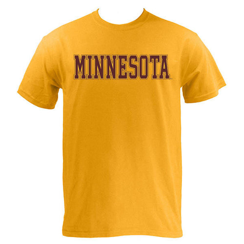 Minnesota Basic MVS Short Sleeve - Gold