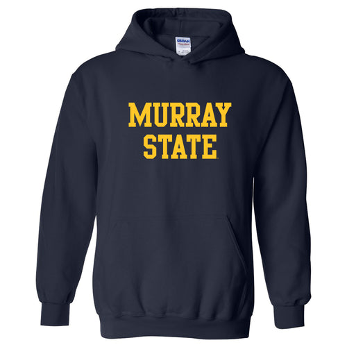Murray State University Racers Basic Block Heavy Blend Hoodie - Navy