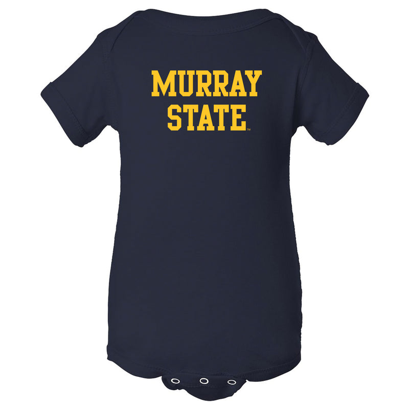 Murray State University Racers Basic Block Creeper - Navy