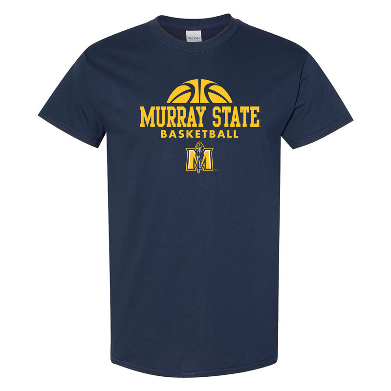 Murray State University Racers Basketball Hype Short Sleeve T Shirt - Navy