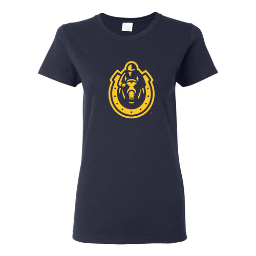 Murray State University Racers Primary Logo Womens Short Sleeve T Shirt - Navy