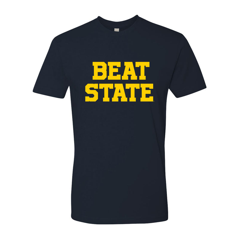 Beat State Premium Cotton Tee - Midnight