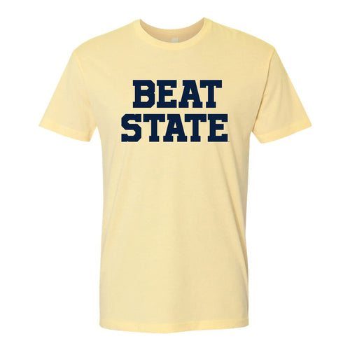 Beat State Premium Cotton Tee - Banana
