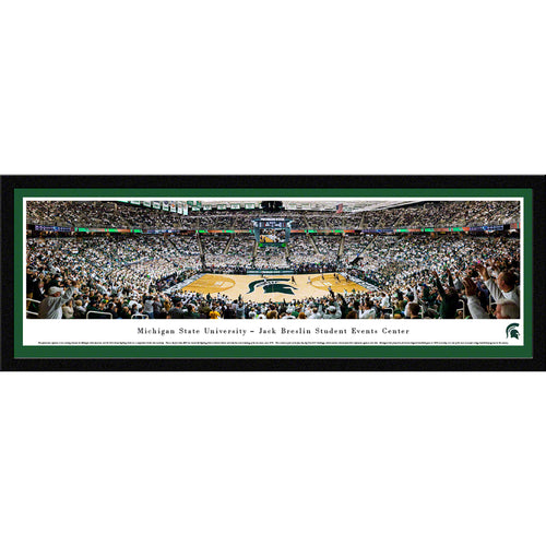Michigan State Spartans Basketball Breslin Center Panarama - Select Frame
