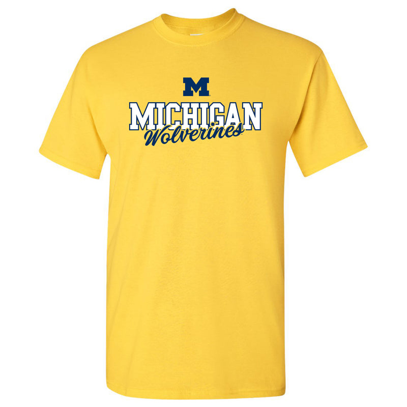 Michigan Fresh Script - Maize