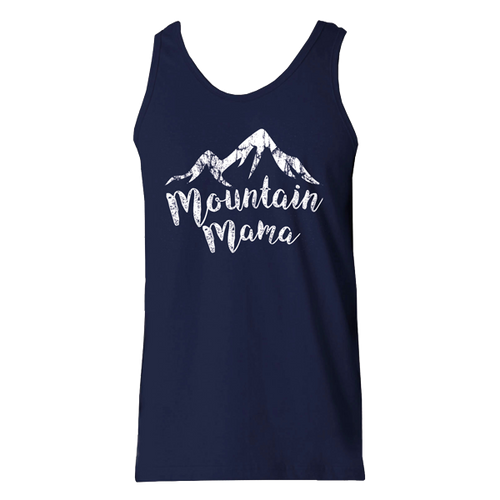 Mountain Mama Tank - Navy
