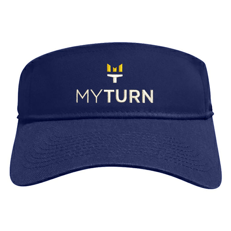 My Turn Visor - Navy
