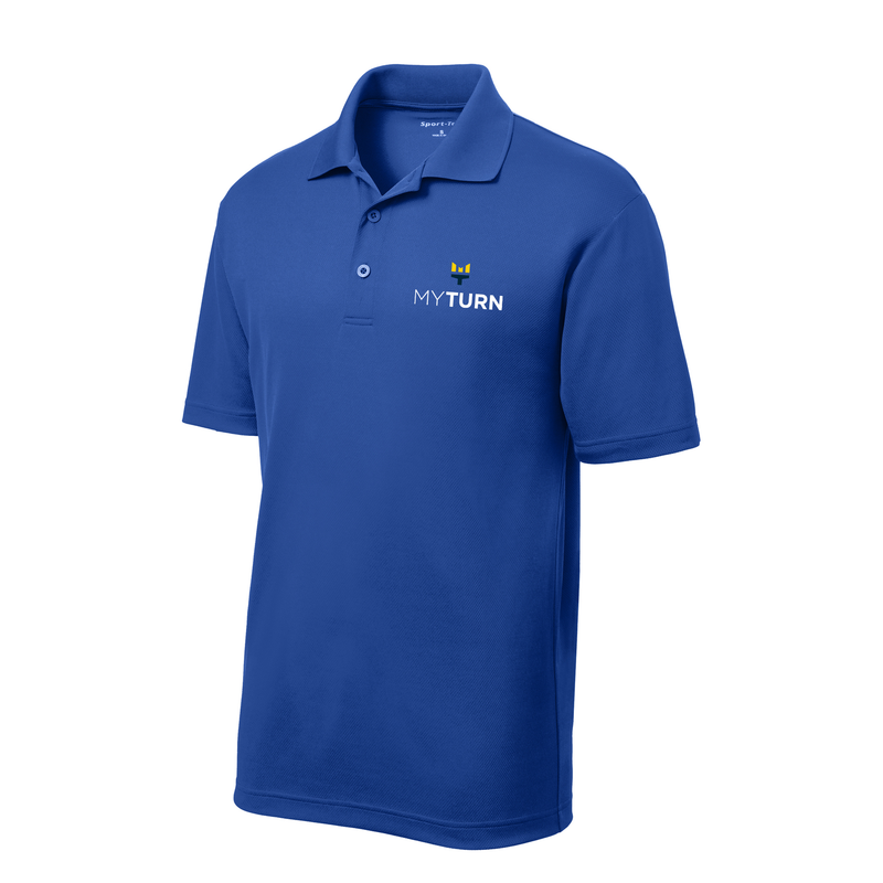 My Turn Youth Sport-Tek Polo - True Royal