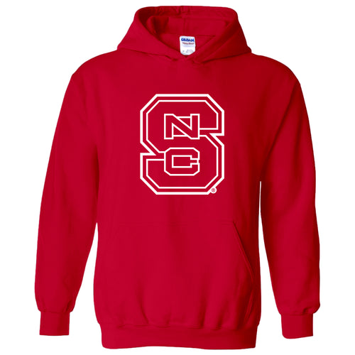 North Carolina State University Wolfpack Block S Hoodie - Red