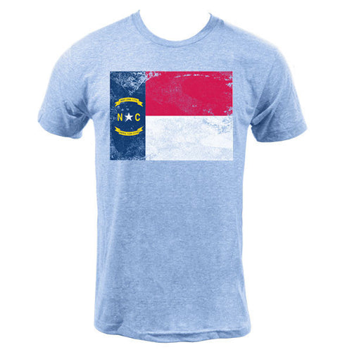 North Carolina State Flag - Athletic Blue