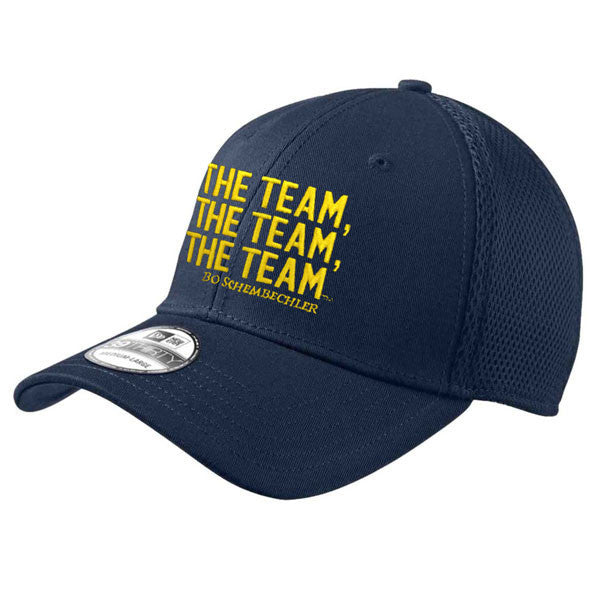 New Era Bo The Team, The Team, The Team Stretch Mesh Hat - Navy