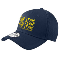 New Era Bo TTT Stretch Mesh Hat - Navy