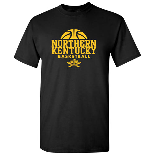 Northern Kentucky University Norse Basketball Hype Short Sleeve T Shirt - Black