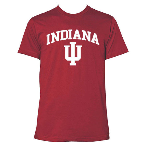 Indiana Arch Next Level T-Shirt - Cardinal