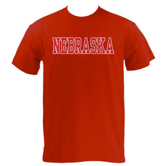 Nebraska Basic MVS Short Sleeve - Red