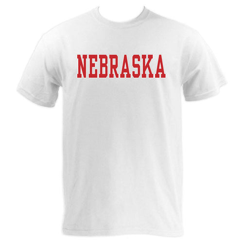 Nebraska Basic MVS Short Sleeve - White