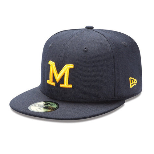 Block M University of Michigan New Era 59Fifty - Baseball Cap Navy