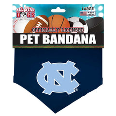 UNC - Dog Bandana - Navy