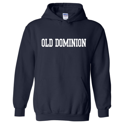 Old Dominion University Monarchs Basic Block Heavy Blend Hoodie - Navy