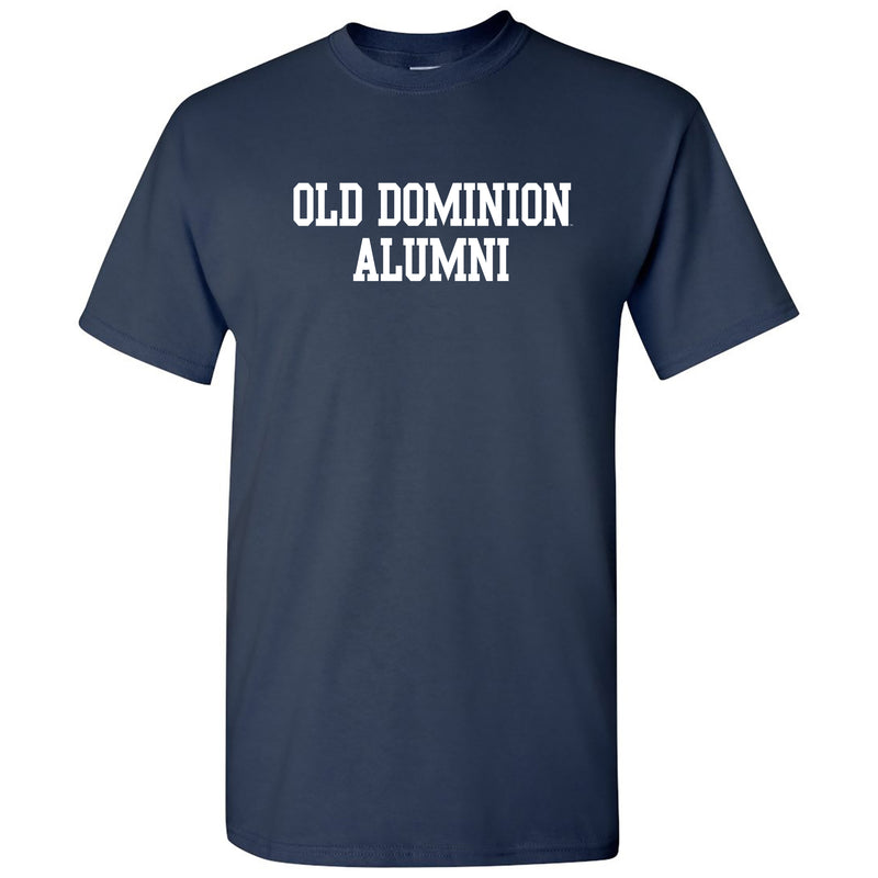 Alumni Block Old Dominion Basic Cotton Short Sleeve T Shirt - Navy