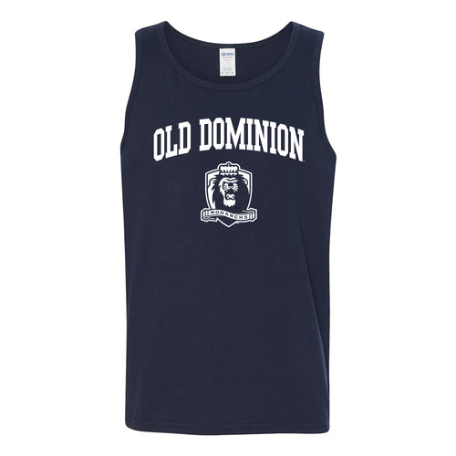 Old Dominion University Monarchs Arch Logo Tank Top - Navy