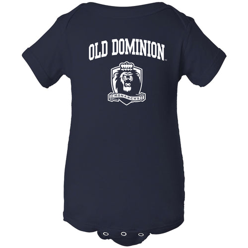 Old Dominion University Monarchs Arch Logo Creeper - Navy