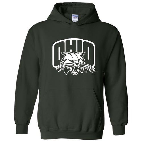 Ohio University Bobcats Arch Logo Hoodie - Forest