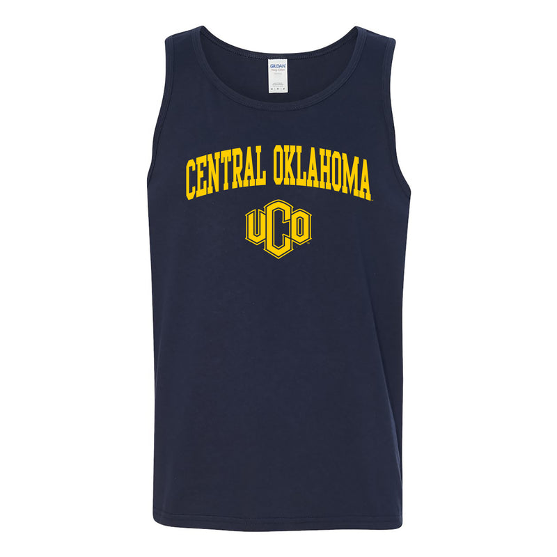 Central Oklahoma Arch Logo Tank Top - Navy