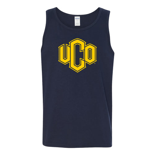 Central Oklahoma University Bronchos Primary Logo Tank Top - Navy