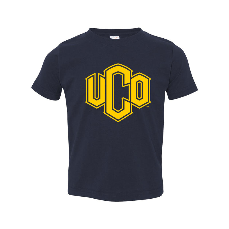 Central Oklahoma Primary Logo Toddler T Shirt - Navy