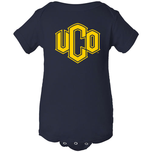 Central Oklahoma University Bronchos Primary Logo Creeper - Navy