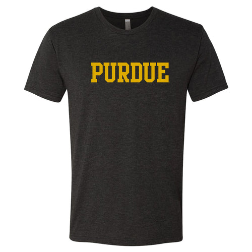 Purdue Basic Block NLA Triblend - Vintage Black