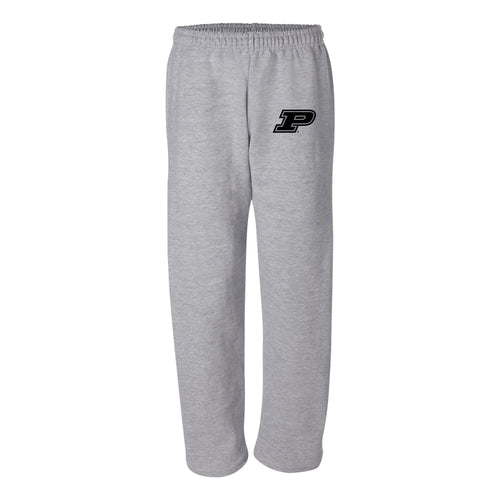 Purdue University Boilermakers Primary Logo Sweatpants - Sport Grey