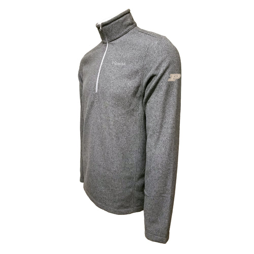Purdue Columbia Fleece - Gold Thread - Grey