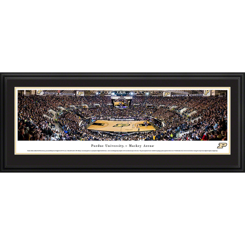 Purdue University Boilermakers Basketball Mackey Arena - Deluxe Frame