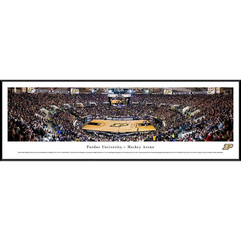 Purdue University Boilermakers Basketball Mackey Arena - Standard Frame