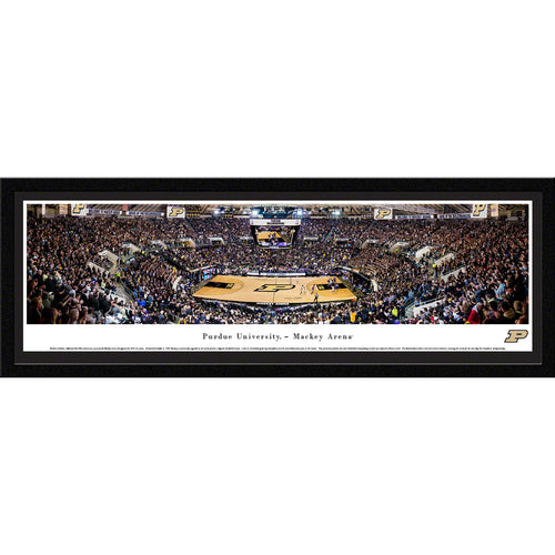 Purdue University Boilermakers Basketball Mackey Arena - Select Frame