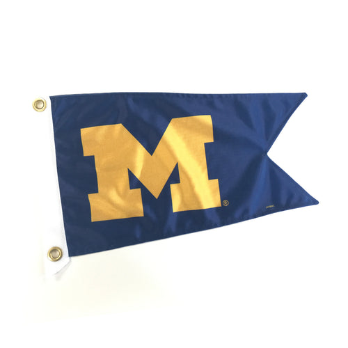 Michigan Yacht Flag - Navy