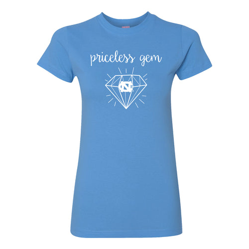 Priceless Gem Womens Fine Jersey T Shirt - Carolina Blue