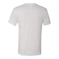 Purdue University Boilermakers Tilted Football Helmet Next Level Short Sleeve T Shirt - Heather White