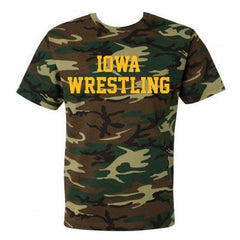 Block Iowa Wrestling - Camo