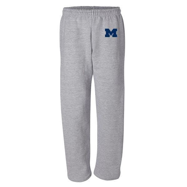 Block M Sweatpants - Sport Grey