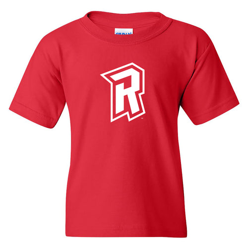 Radford University Highlanders Primary Logo Basic Cotton Short Sleeve Youth T Shirt - Red