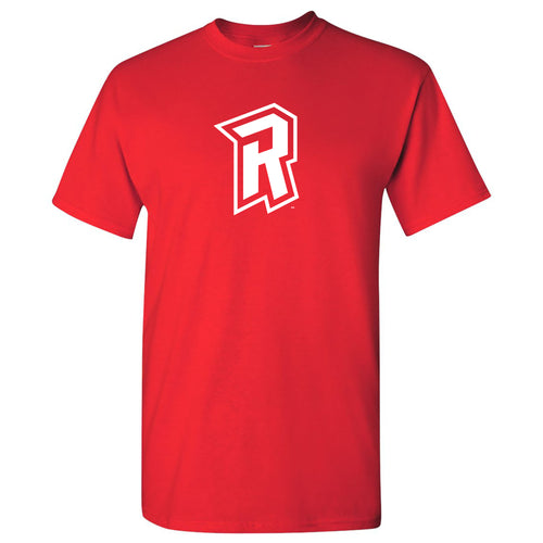 Radford University Highlanders Primary Logo Basic Cotton Short Sleeve T Shirt - Red