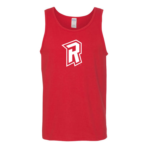 Radford University Highlanders Primary Logo Heavy Cotton Tank Top - Red