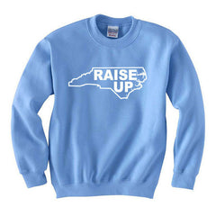 Raise Up Crew Neck - Carolina Blue