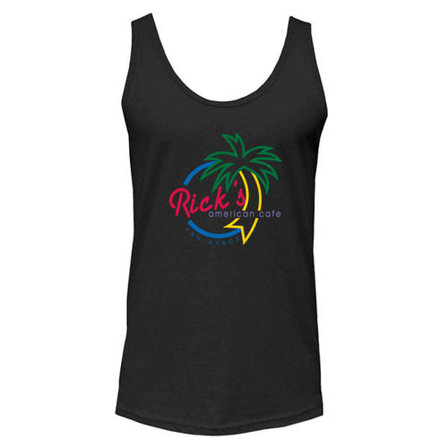 Rick's Multi Color Tank Top - Black