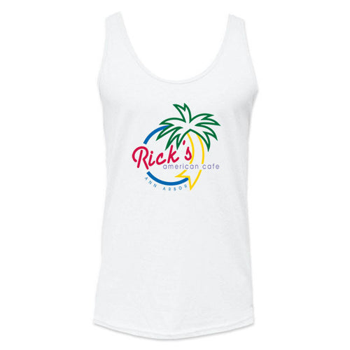 Rick's Multi Color Tank Top - White