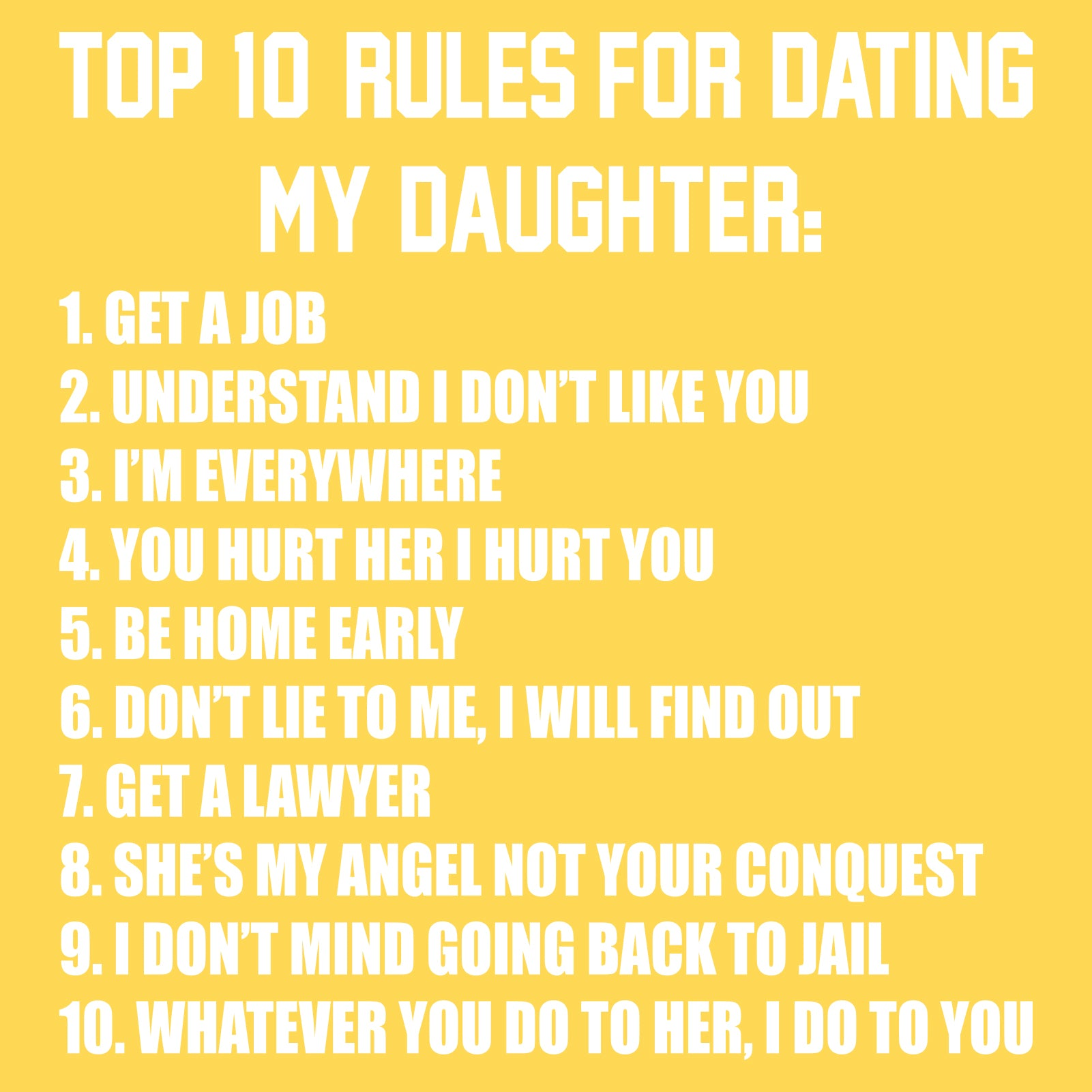 Dating rules to discuss with parents