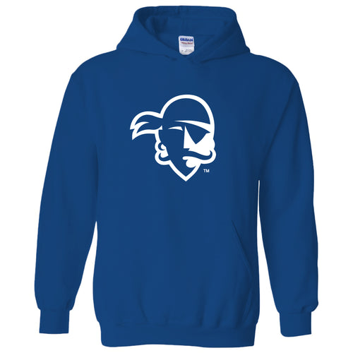 Seton Hall University Pirates Primary Logo Heavy Blend Hoodie - Royal